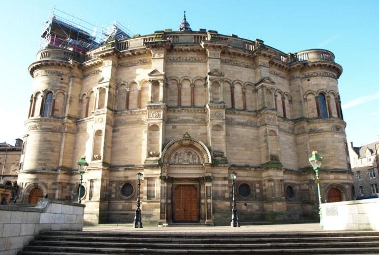 Edwards Engineering case study: McEwan Hall staircase