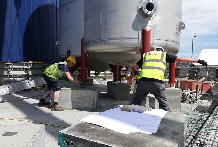 Edwards Engineering case study: Broxburn Bottlers site capacity