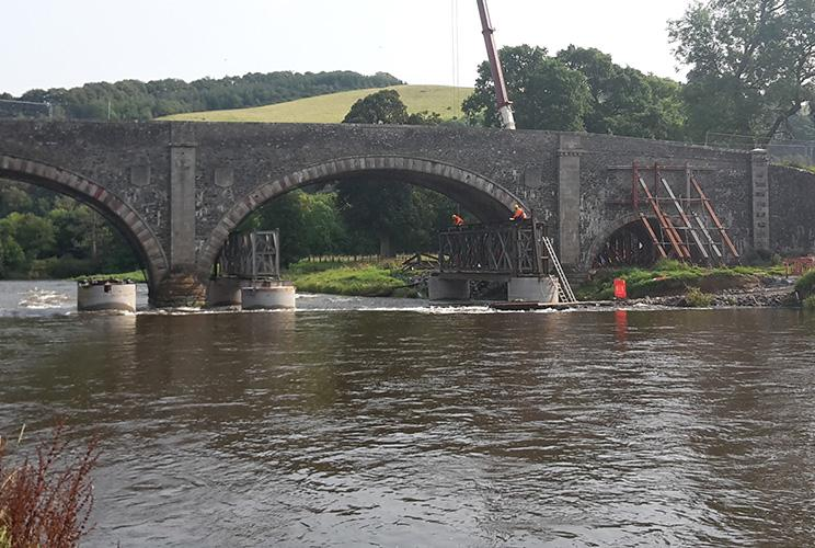 Edwards Engineering case study: Old Tweed Bridge refurbishment