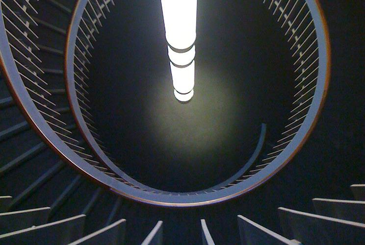 Edwards Engineering case study: Usher Hall spiral staircase