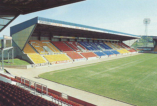 Edwards Engineering's construction of McDairmid Park