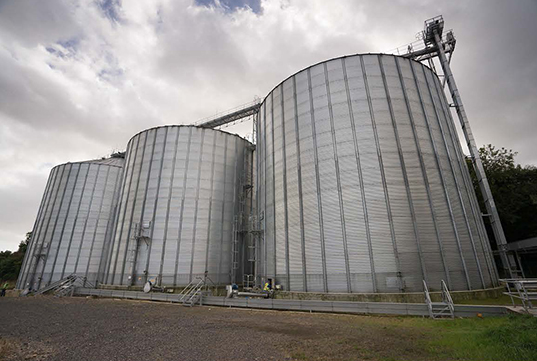 Edwards Engineering creates a major grain intake and dressing facility for Quaker