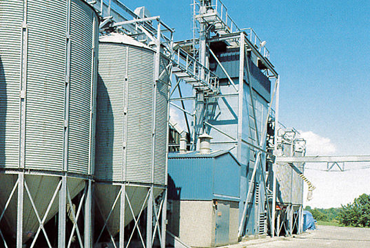 Edwards Engineering's grain drier installations and maintenance for agricultural customers